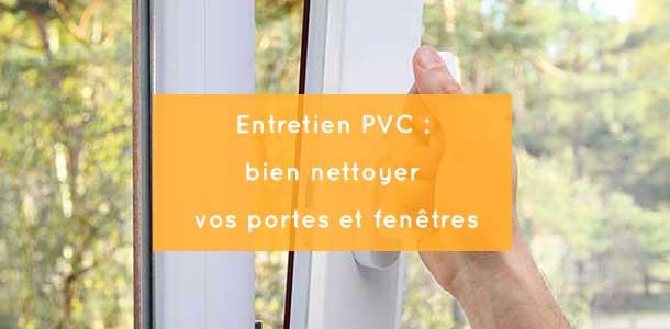 Entretien pvc bien nettoyer vos portes et fen tres for Nettoyer fenetre pvc jauni